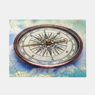 Compass Clouds Doormat