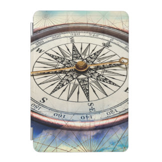 Compass Clouds iPad Mini Cover