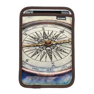 Compass Clouds iPad Mini Sleeve