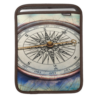 Compass Clouds iPad Sleeve