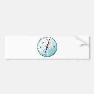 Compass/compass Bumper Sticker