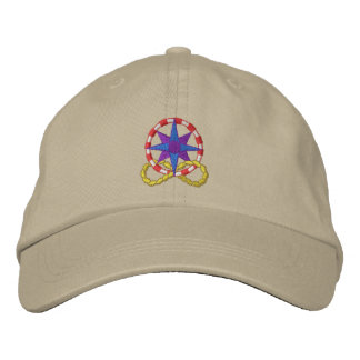 Compass Embroidered Hat