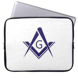 compass freemason guild mason organization sign sy laptop sleeve