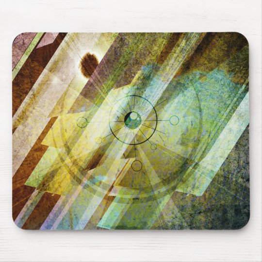 compass mouse mat