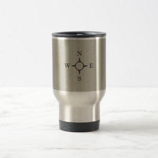 Compass 15 Oz Stainless Steel Travel Mug