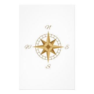 Compass Navigation Stationery