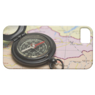 Compass on a map 2 barely there iPhone 5 case