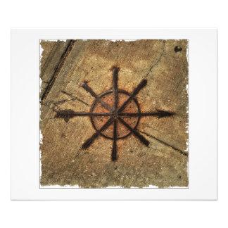 compass photo print