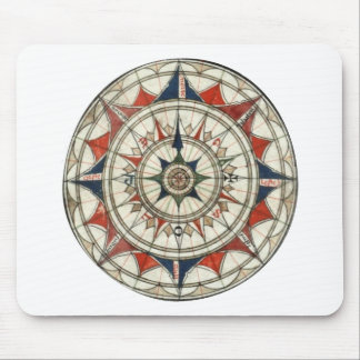Compass Rose #5 Mouse Pad