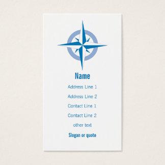 Compass Rose Business Card