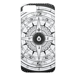 Compass Rose - iPhone 7 case (White)