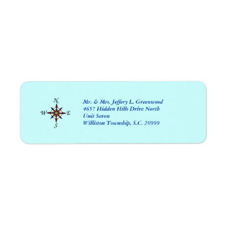 Compass Rose Labels