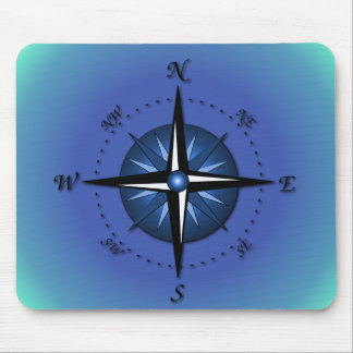 Compass Rose Mouse Mat