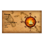 Compass Rose Sailing Pack Of Standard Business Cards
