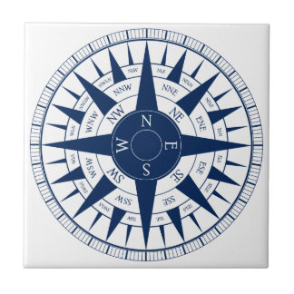 Compass Rose Tile
