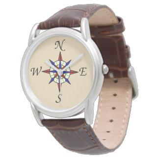 Compass Rose Wrist Watch