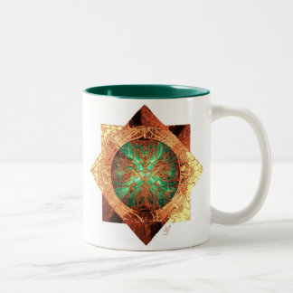 Compass Two-Tone Coffee Mug