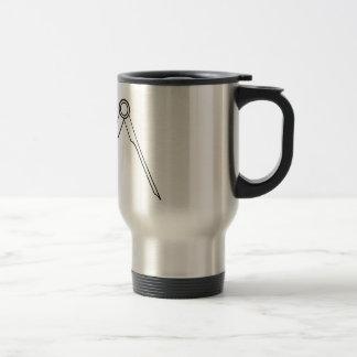 Compasses Stainless Steel Travel Mug