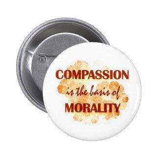 Compassion 6 Cm Round Badge