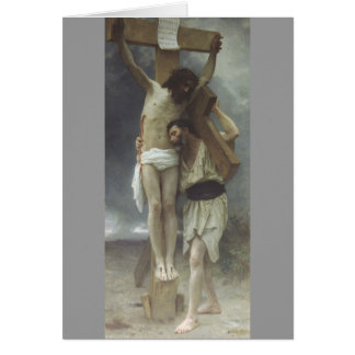 Compassion by William Bouguereau Card