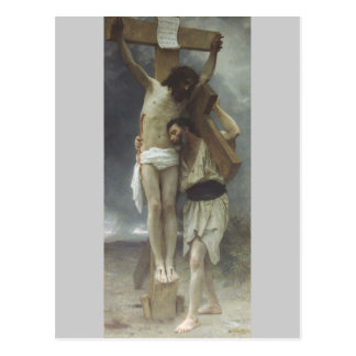 Compassion by William Bouguereau Postcard