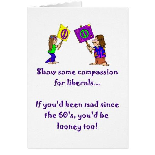 Compassion for Liberals Card