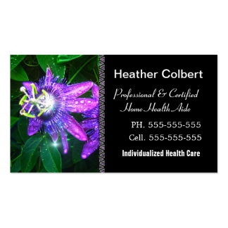 Compassion Fower Caregiver  Professional Pack Of Standard Business Cards