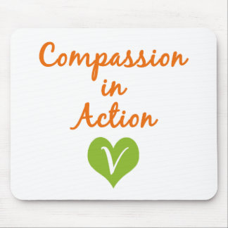 Compassion in Action Mouse Pad