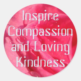 Compassion stickers