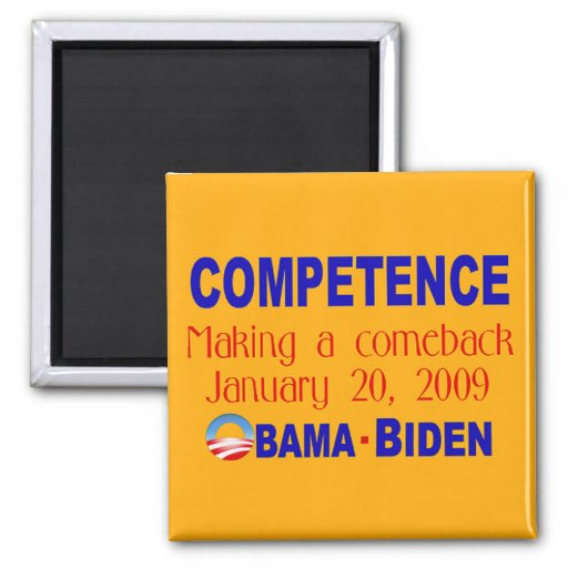Competence Making A Comeback Magnet (canary)