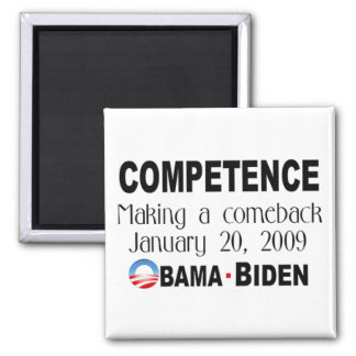 Competence Making A Comeback Magnet (chalk)