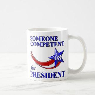 Competent President Basic White Mug