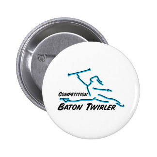 Competition Twirler Button