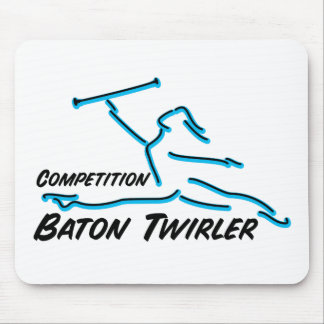 Competition Twirler Mouse Pad