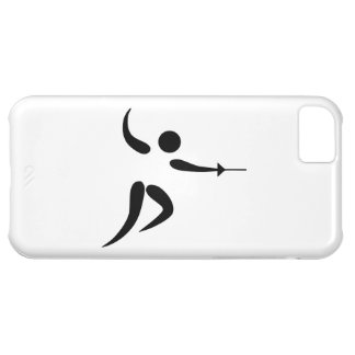 Competitive and Olympic Fencing Pictogram iPhone 5C Covers