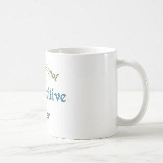 Competitive Eater Basic White Mug