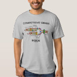 Competitive Genes Inside (DNA Replication) Tee Shirts