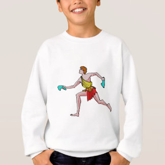 Competitor in the ancient Games Sweatshirt