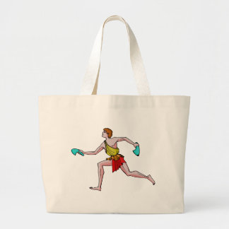 Competitor in the ancient Games Jumbo Tote Bag