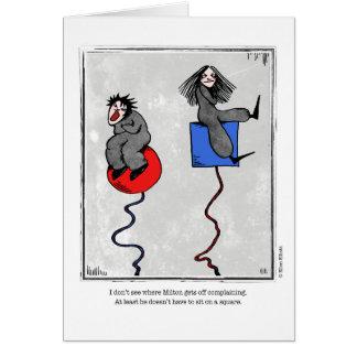 COMPLAINING cartoon by Ellen Elliott Greeting Card