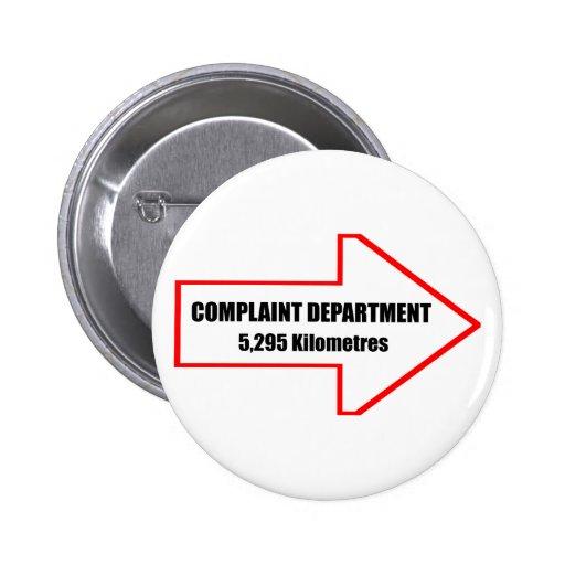 Complaint Department Button