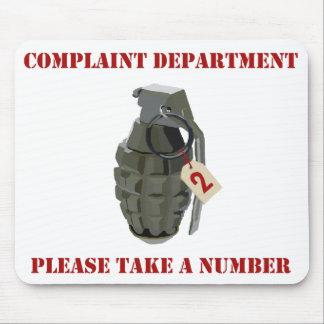 Complaint Department Mouse Mat