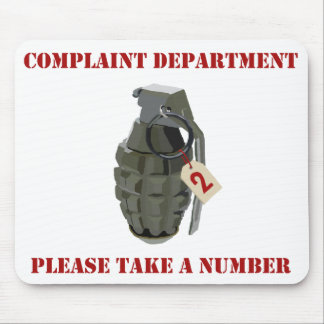 Complaint Department Mouse Pad