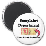 Complaints Department Fridge Magnet