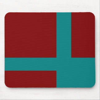 Complementary Two Color Combination / Mix Mouse Pad