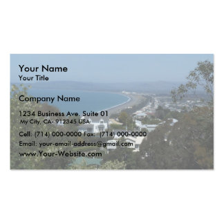 Complete View Of The Beautiful Beach Pack Of Standard Business Cards