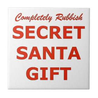 Completely Rubbish Secret Santa Gift Tile