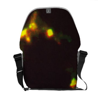 Complex Cloud of Gas Heated by Shock Waves Courier Bags