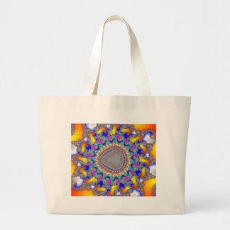 Complex Fractal Pattern: Canvas Bags