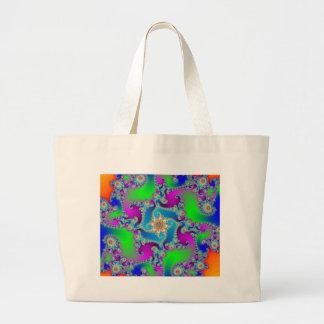 Complex Fractal Pattern: Tote Bag